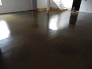 epoxy floor coatings and concerte staining by Choice City Epoxy