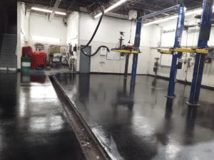 Choice city epoxy floor coating for commercial at Ed Carroll