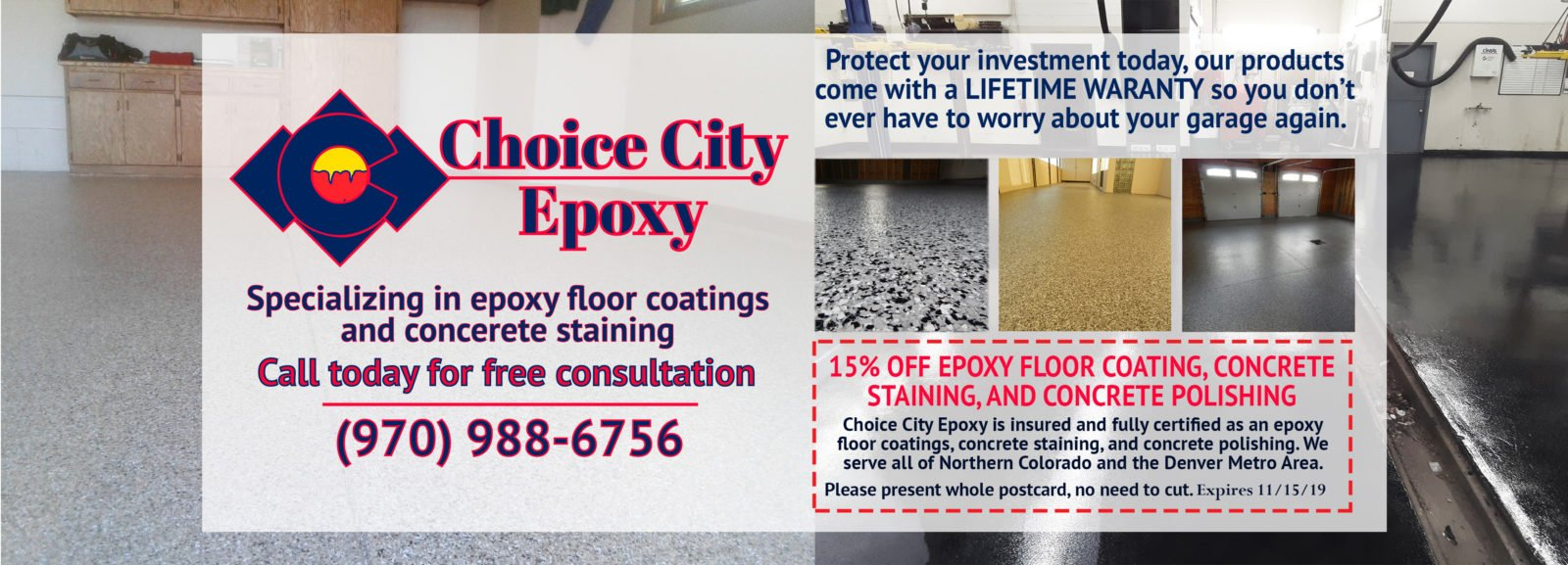 Choice City Epoxy Floor Coatings in Fort Collins